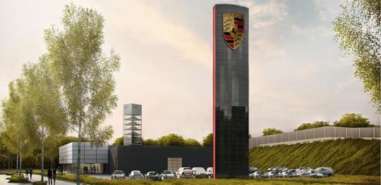 Imagefilm – Porsche Berlin Adlershof, film-connexion begleitet Eröffnung