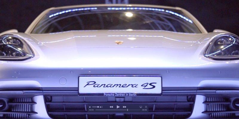 Eventfilm zur Premiere des neuen Porsche Panamera
